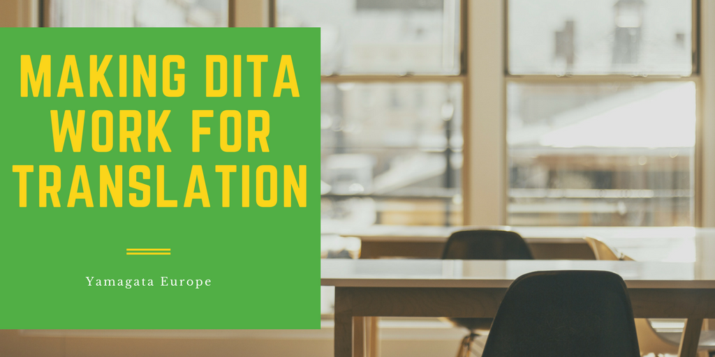 Making DITA work for translation